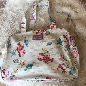 Cath Kidston shoulder bag handbag cute crab shell